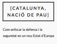 [Catalunya, nació de pau]